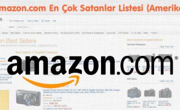 Amazon.com En Çok Satanlar Listesi (Amerika)