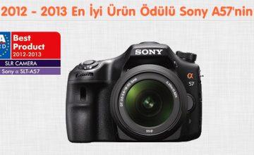 EISA Award Sony A57'ye Altın Ödül