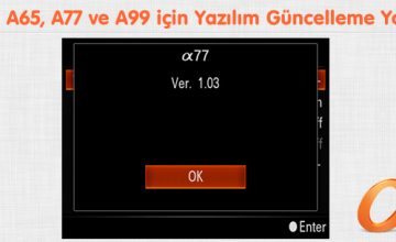 A57, A65, A77 ve A99 için Yazılım Güncelleme Yolda (Geldi)