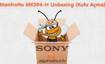 Manfrotto MK394-H Unboxing (Kutu Açma)