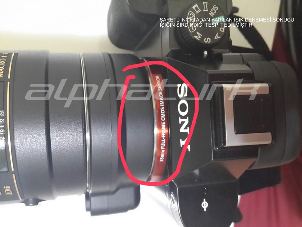 Sony A7 - A7R Light Leaking