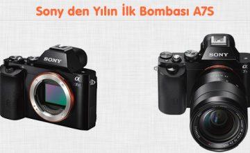 Sony Full Frame Aynasız 4K Video Kayıt Edebilen A7s i Duyurdu