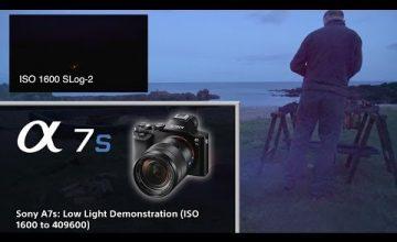 Sony A7S Full Frame Kamera Düşük Işık-Yüksek İSO Çekim Örneği