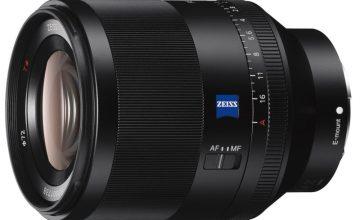 Sony'den Full Frame FE 50mm F1.4 ZA Prime Lens