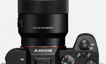 Sony E-Mount 50mm F2.8 Makro Lensini Duyurdu