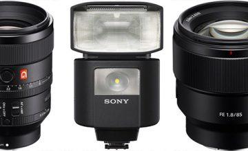 Sony Full Frame E Mount Lensler Yolda Bonusumuz ise Flash